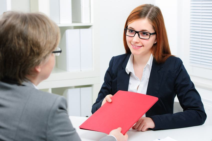 a job offer to a candidate
