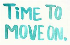 time to move on sign